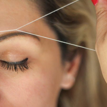 Threading, waxing